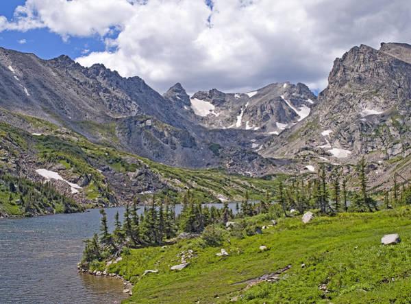Indian Peaks Wilderness Photograph - Indian Peaks Wilderness Lake Isabelle Colorado by Brendan Reals