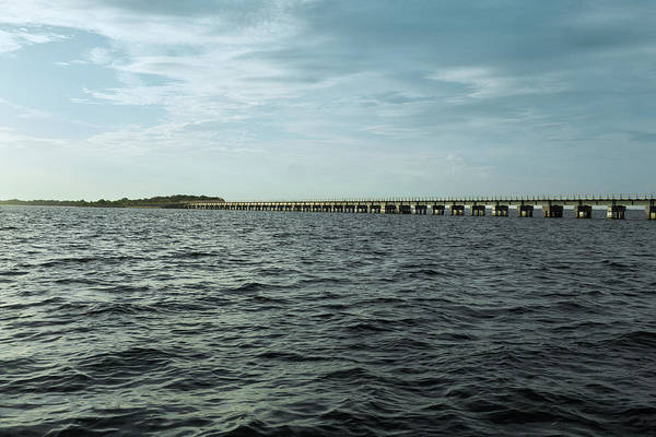 Photograph - Indian River Railroad Bridge by John M Bailey