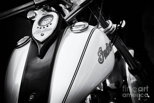 Photograph - Indian Scout Gas Tank by Tim Gainey