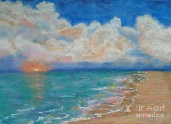 Pastel - Indian Shores by Vickie Scarlett-Fisher
