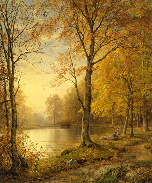 Wall Art - Painting - Indian Summer by William Trost Richards