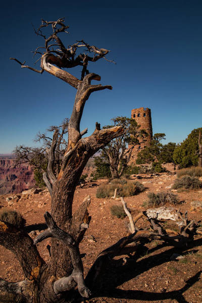 Photograph -  Indian Watchtower At Desert View by Jeff Folger