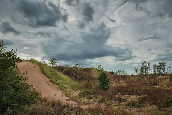 Photograph - Indiana Dunes And The Clouds Of Storm by John M Bailey