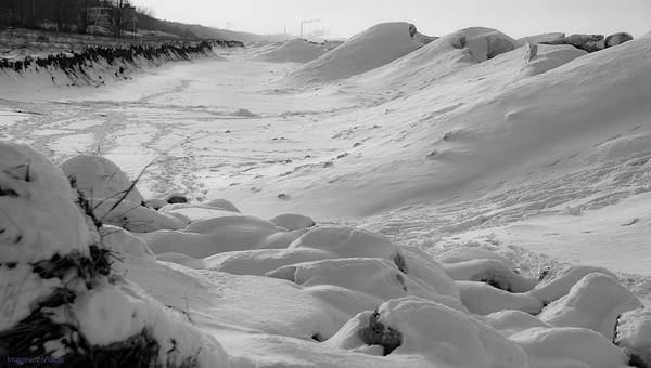 Photograph - Indiana Dunes Shelf Ice Waves #1 by Rich Ackerman