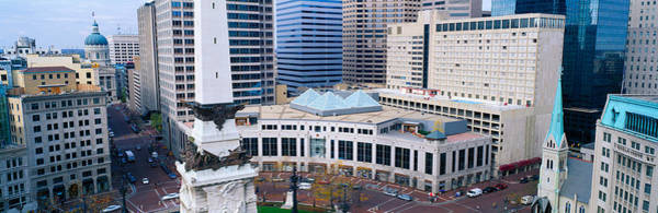 State Of Indiana Photograph - Indianapolis, Indiana by Panoramic Images
