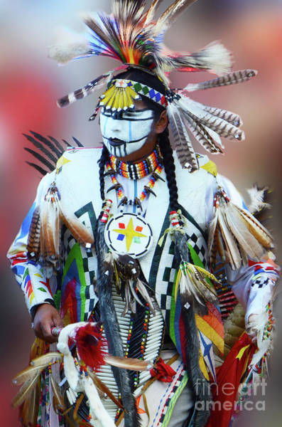 Beading Photograph - Indigenous People Canada 4 by Bob Christopher