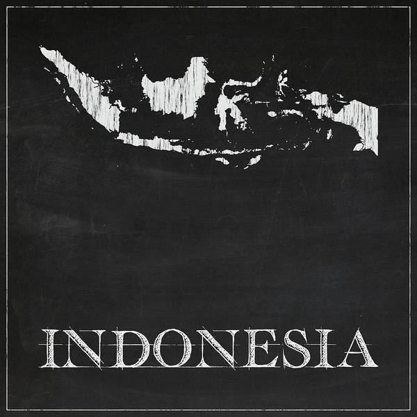 Indonesia Digital Art - Indonesia - Chalk by Finlay McNevin