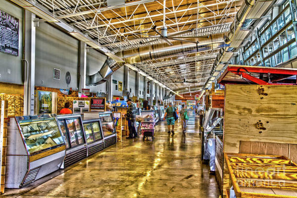 Photograph - Indoor Market by William Norton