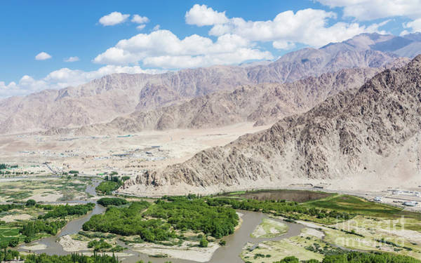 Photograph - Indus Valley Near Leh by Didier Marti