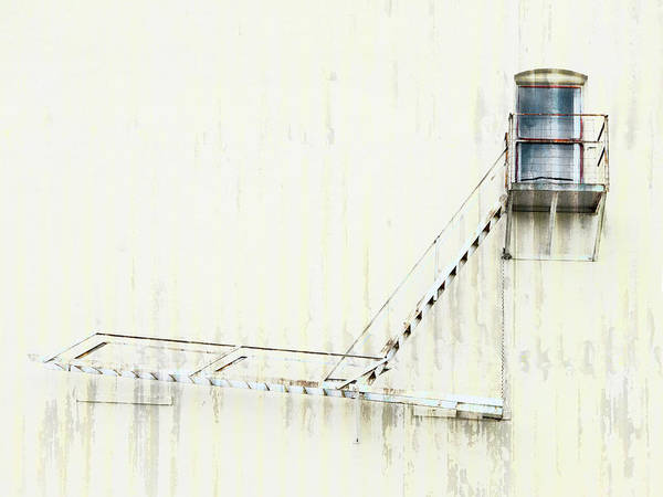 Wall Art - Photograph - Industrial Art Fire Escape by Carol Leigh