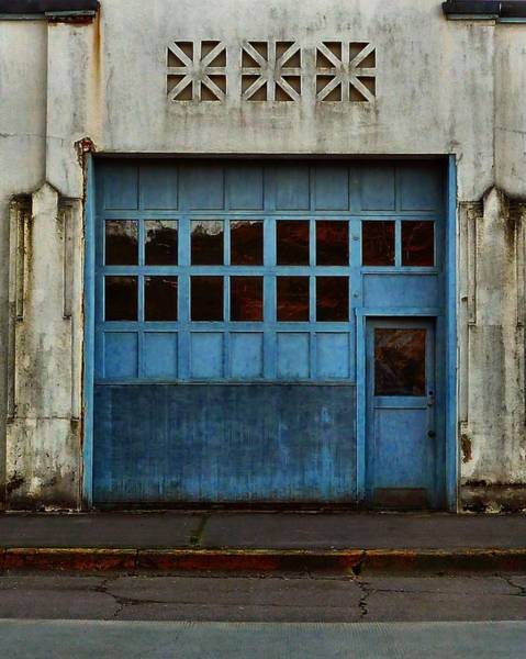 Photograph - Industrial Blue by Patricia Strand