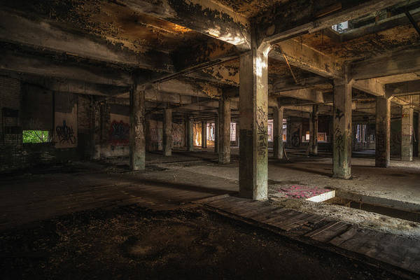 Photograph - Industrial Catacombs by Lindy Grasser