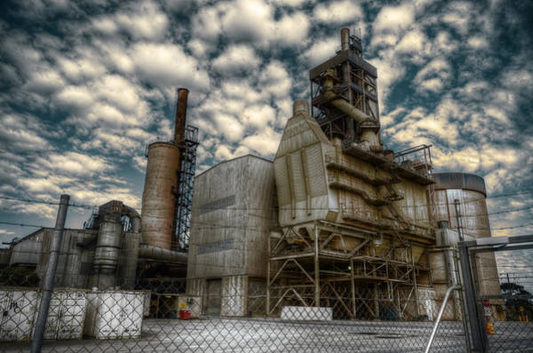 Ugly Photograph - Industrial Disease by Wayne Sherriff
