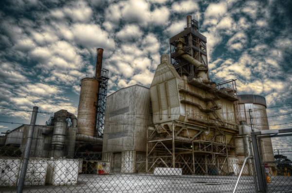 Ugliness Photograph - Industrial Disease by Wayne Sherriff