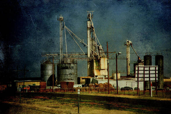 Photograph - Industrial Farming In Texas by Susanne Van Hulst
