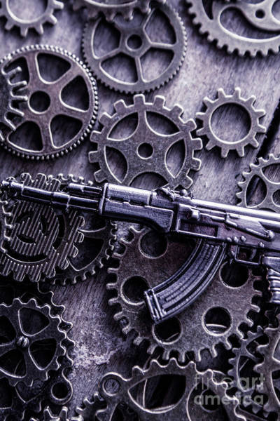Warfare Wall Art - Photograph - Industrial Firearms  by Jorgo Photography - Wall Art Gallery