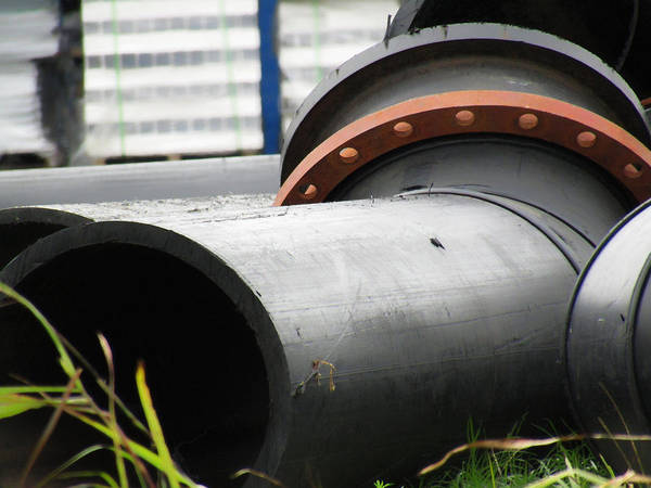 Photograph - Industrial Pipe 2 by Robert Knight