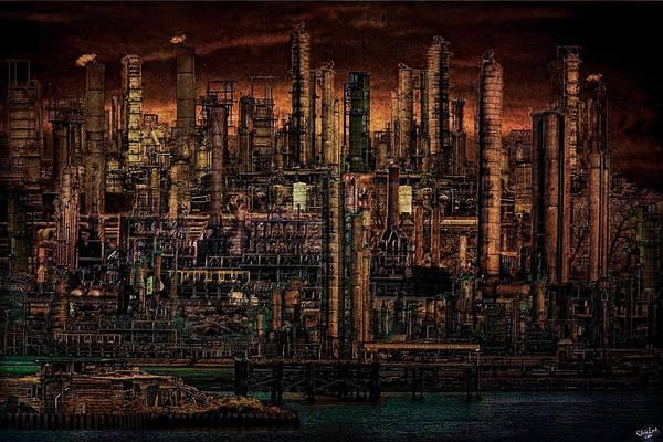 Industrial Psychosis Art Print