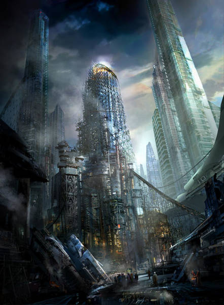 Future Painting - Industrialize by Philip Straub