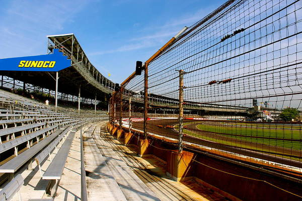 Photograph - Indy  Indianapolis Motor Speedway by Iconic Images Art Gallery David Pucciarelli