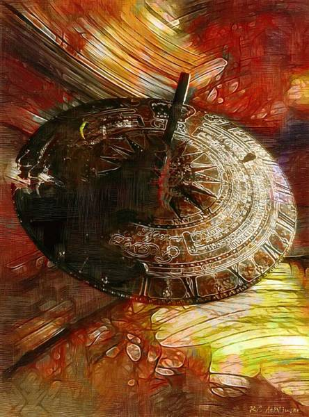 Wall Art - Painting - Inevitable Conclusion by RC DeWinter