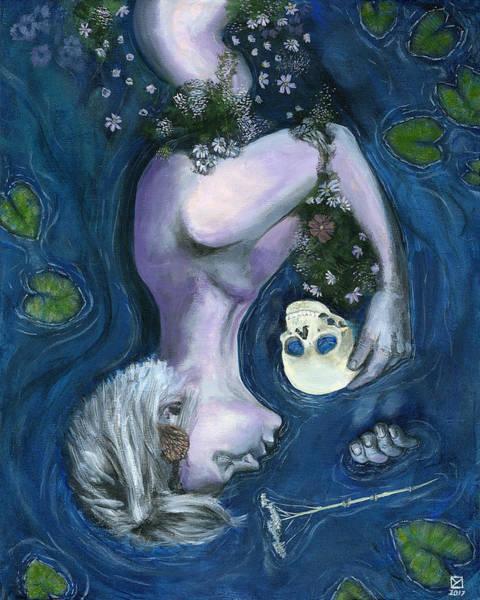 Painting - Infans Memento Mori by Matthew Mezo