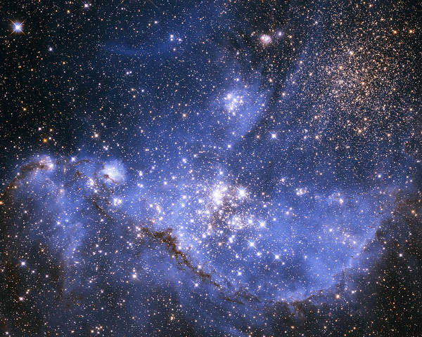 Photograph - Infant Stars In The Small Magellanic Cloud  by Artistic Panda