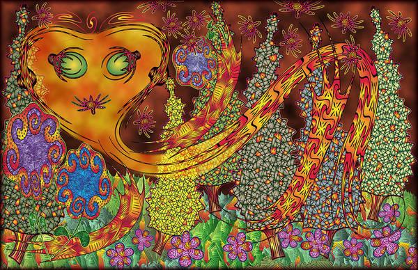 Digital Art - Inferno by Becky Titus