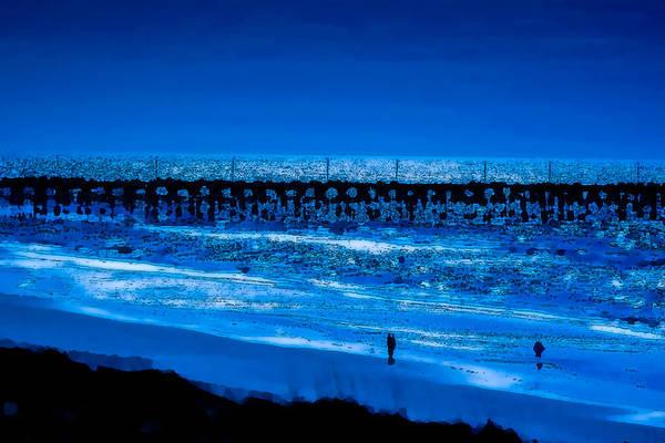 Infinite Blue Art Print by John Pagliuca