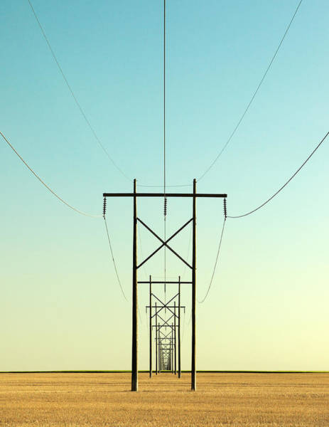 Lines Photograph - Infinite Conductivity by Todd Klassy