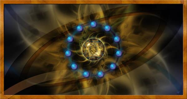 Infinite Lotus Art Print