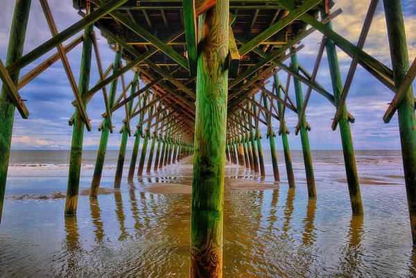 Photograph - Infinite Pier by Greg Norrell