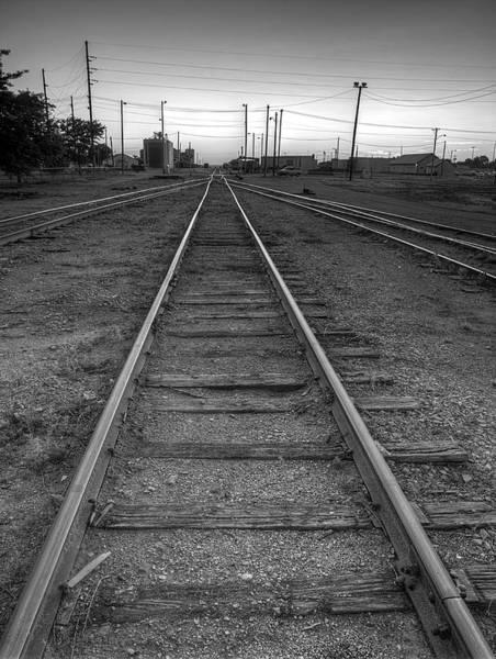 Photograph - Infinite Rail by HW Kateley
