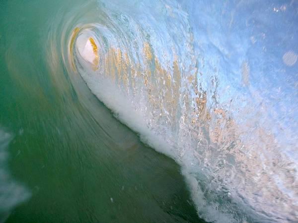 Bodyboard Photograph - Infinity Tube by Benen  Weir