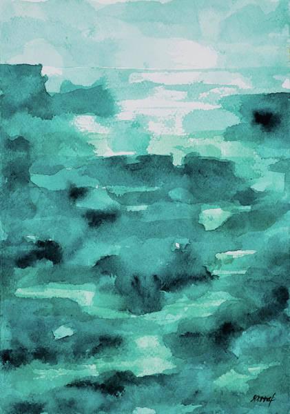Painting - Infinity Ocean by Maria Arnaudova
