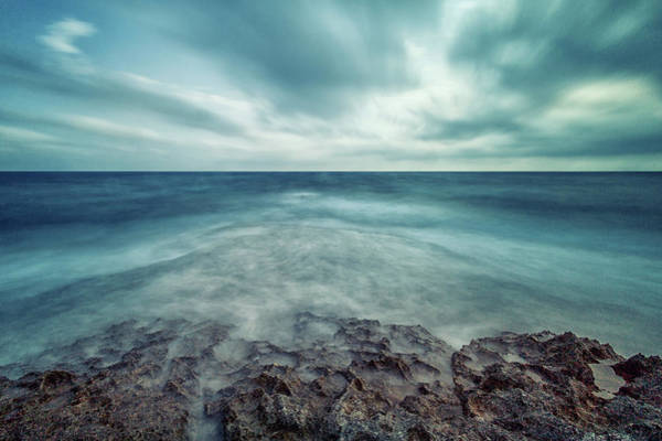 Shutter Speed Photograph - Infinity Sea by Stelios Kleanthous