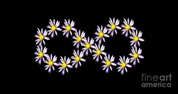 Photograph - Infinity Symbol by Rachel Hannah