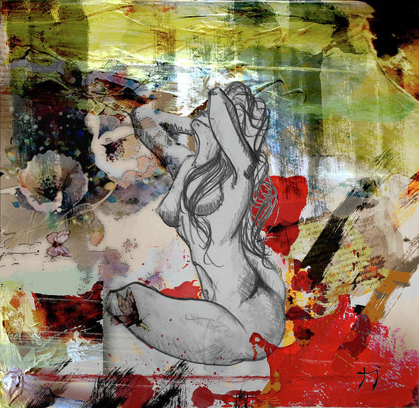 Mixed Media - Influencia by Carlos Paredes