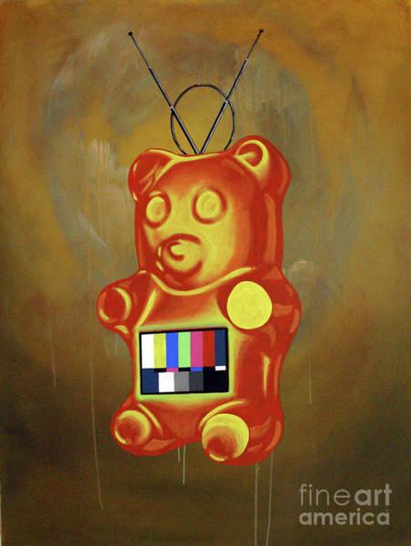 Gummy Bear Painting - Informant by Derek Smith