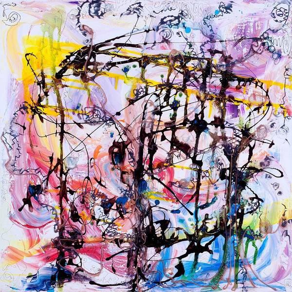 Painting - Information Network by Regina Valluzzi