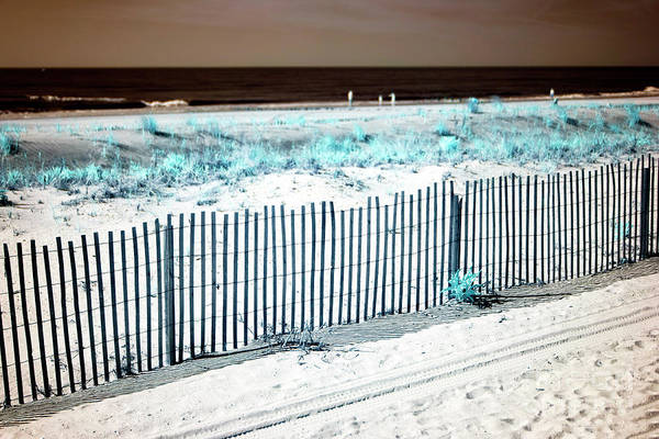 Photograph - Infrared Beach Day At Ocean City by John Rizzuto