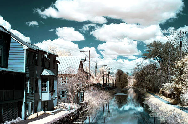Photograph - Infrared Canal In New Hope by John Rizzuto