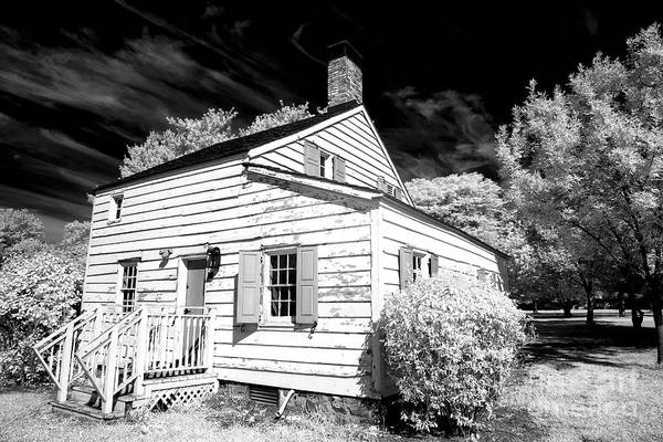 Photograph - Infrared House At Olde Towne by John Rizzuto