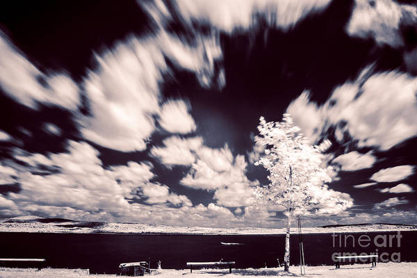 Photograph - Infrared Lake by Odon Czintos