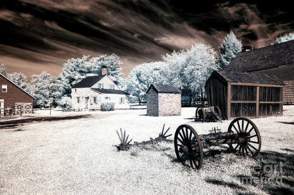Photograph - Infrared Olde Towne by John Rizzuto