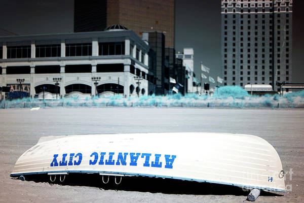 Photograph - Infrared On Atlantic City Beach by John Rizzuto
