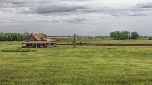 Photograph - Ingalls Livestock Barn by Susan Rissi Tregoning