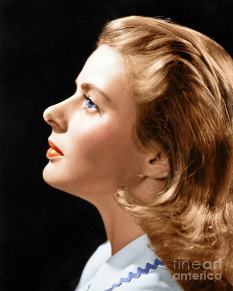 Photograph - Ingrid Bergman by Granger
