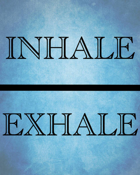 Mixed Media - Inhale Exhale by Dan Sproul