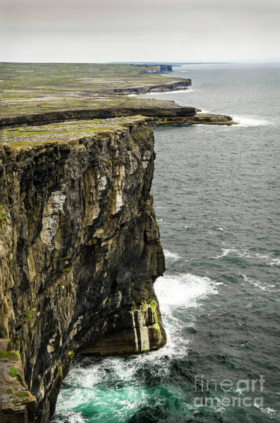 Wall Art - Photograph - Inishmore Cliffs And Karst Landscape From Dun Aengus by RicardMN Photography